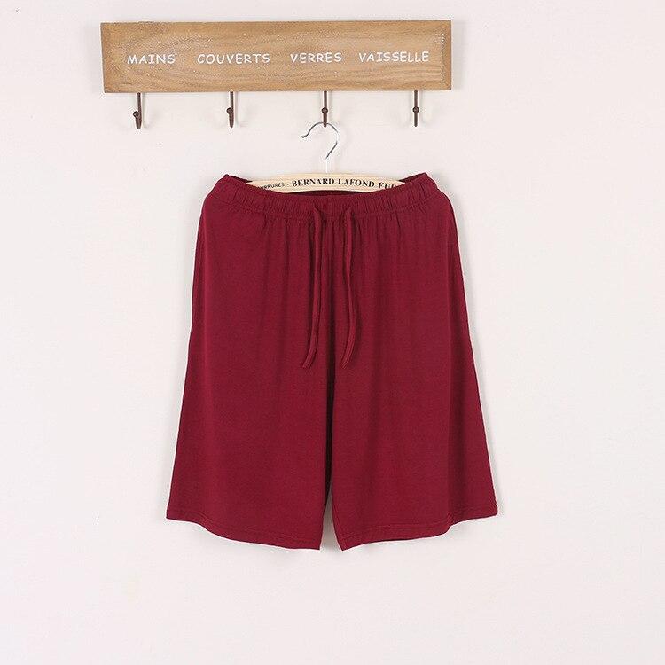 Новинка лето большие размеры мужские% 27 шорты хлопок модал повседневная домашние брюки тонкие секционные большие размеры свободные шорты пижамы мужские пижамы брюки