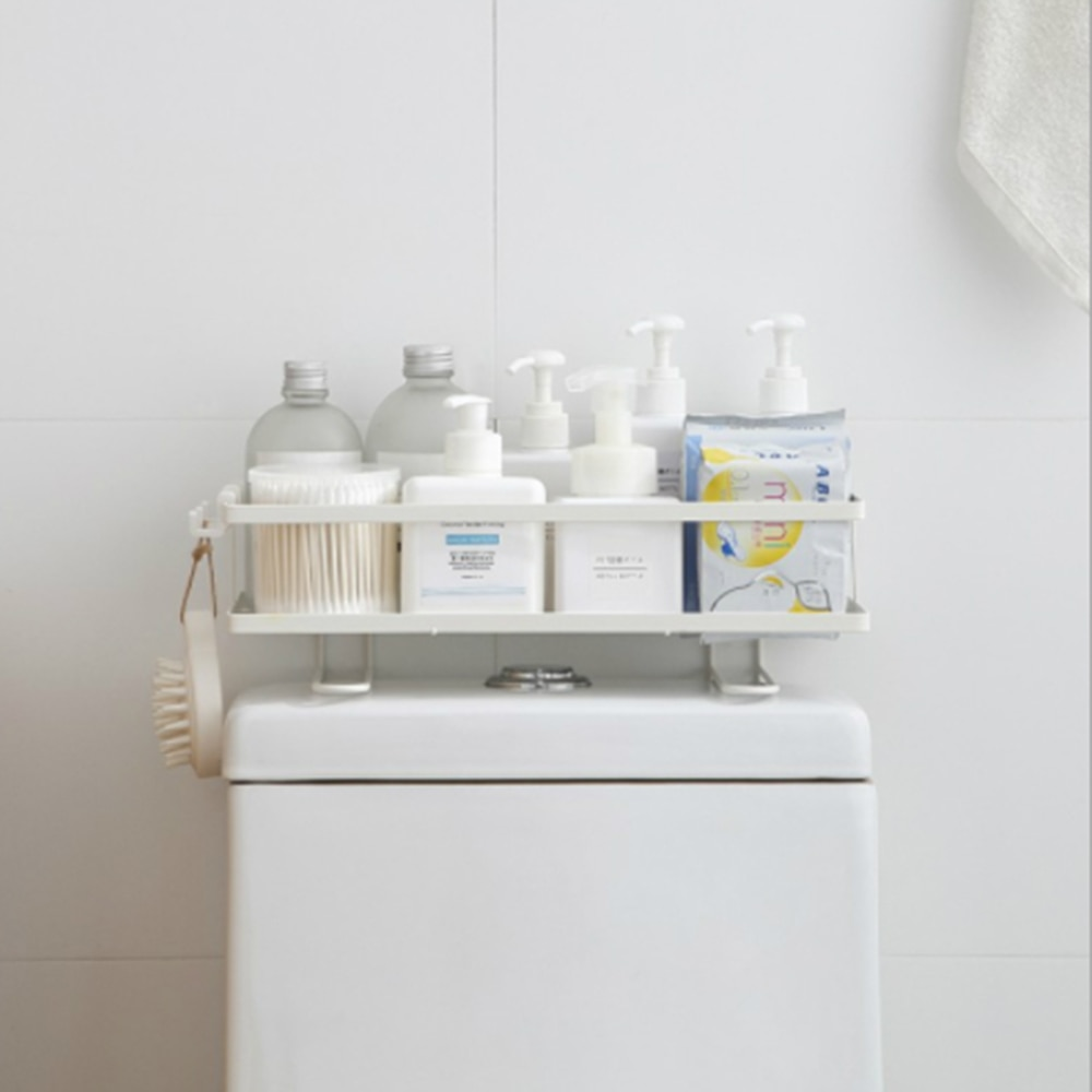 رف مرحاض من الحديد المطاوع فوق خزان المرحاض ، رف تخزين للمراحيض ، تدريب مجاني ، مواد فنية حديدية عالية الجودة
