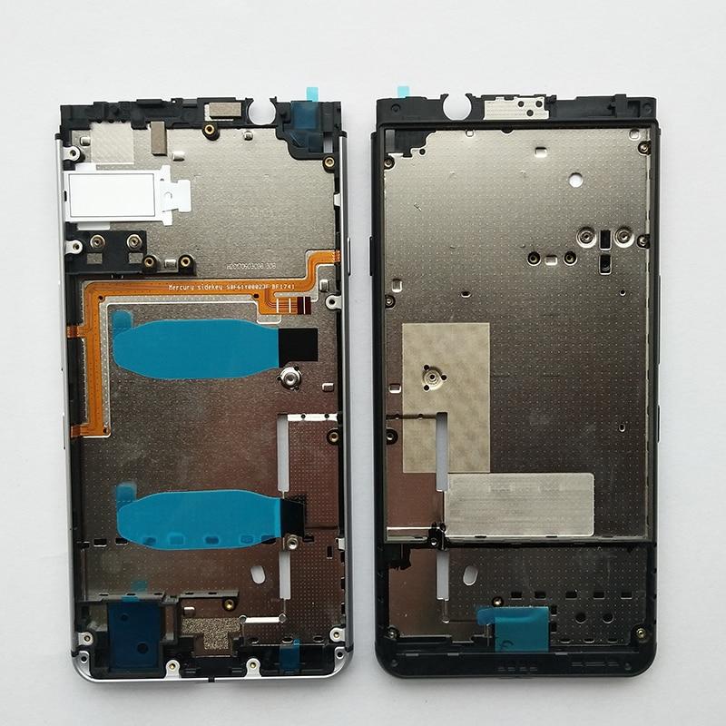 BINYEAE New Metal Middle Frame Bezel Front Frame For Blackberry Keyone Dtek70 Backplate Middle Chassis With Side Keys