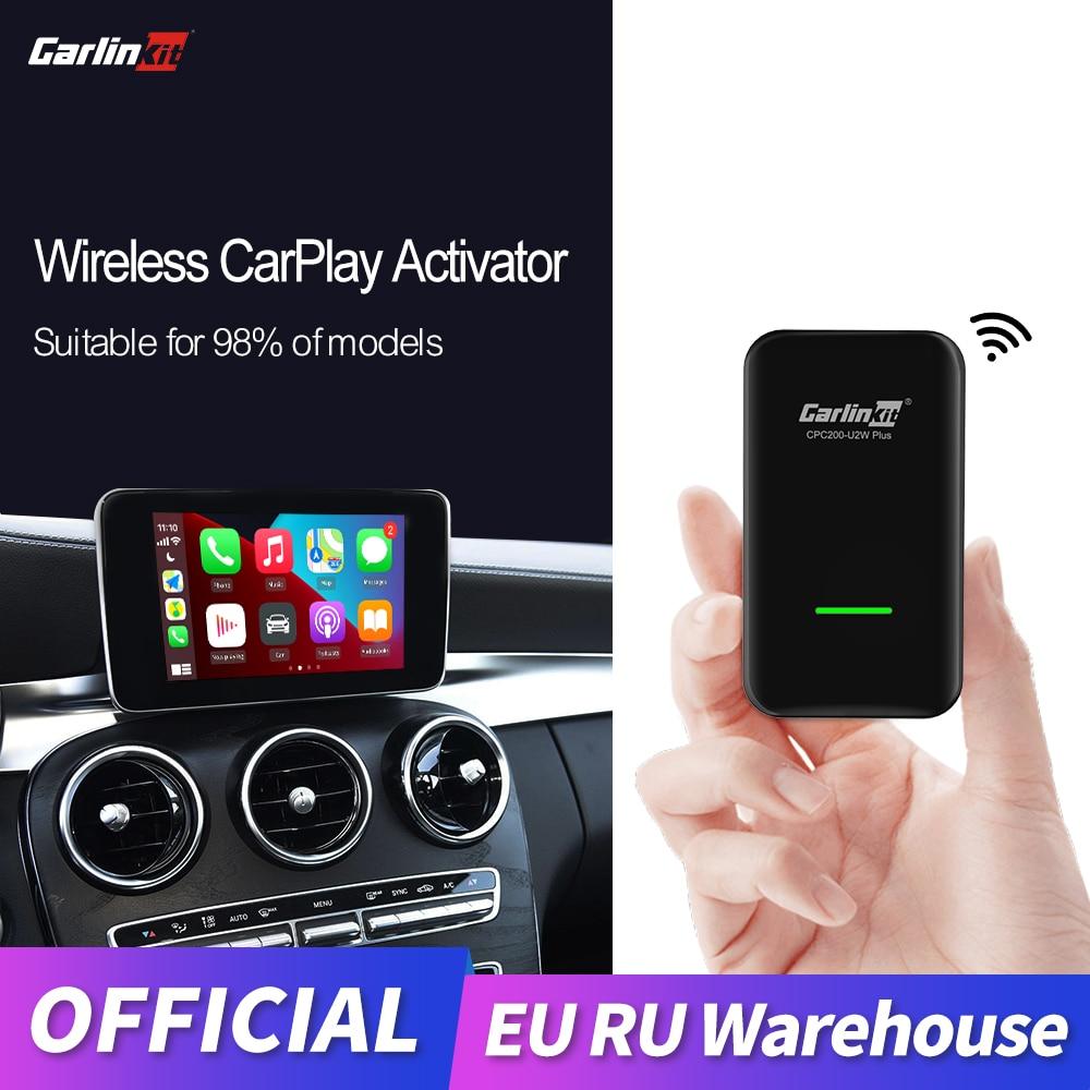 Carlinkit 2.0 أبل CarPlay اللاسلكي Carplay المنشط لأودي بورش VW فولفو السيارات الاتصال التكيف Carplay اللاسلكية IOS 14 خريطة for Audi Porsche Volkswagen Volvo Mazda Mercedes Peugeot Seat ...