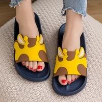 children slippers boys girls beach sandals summer shoes for kids eva non slip cute soft indoor bathroom slides ttx35