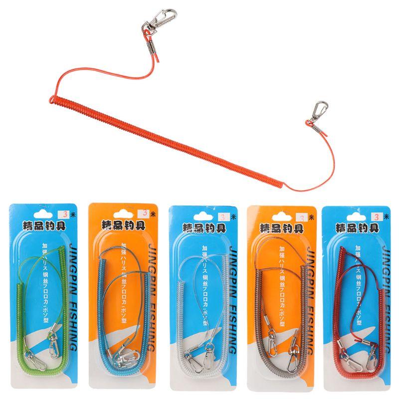 Рыболовная веревка с магнитной пряжкой из ТПУ и стали быстроразъемный шнур 3 м