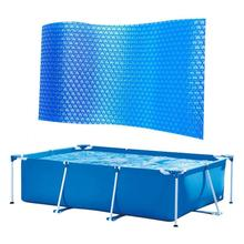 Cubierta Solar para piscina, cubierta Rectangular para piscina de forma de PE, película aislante de burbujas para piscina de interior y exterior