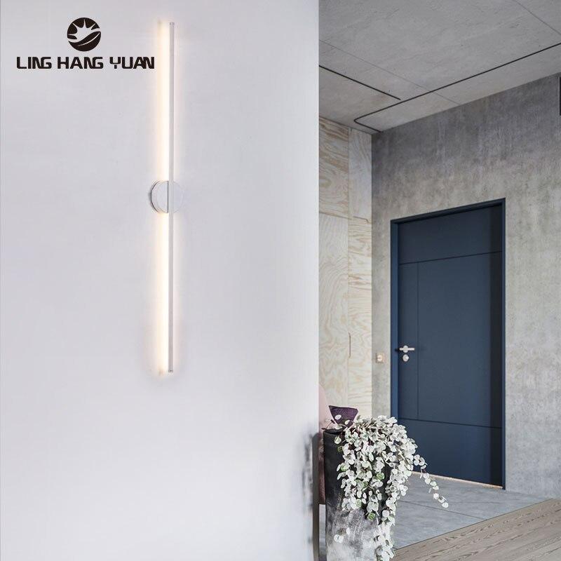 Modern Led Wall Lamp 60CM 80CM Sconce Light Wall Lamp for Living room Bedroom Bedside Light Kitchen Bathroom Lamp Mrridor Lights
