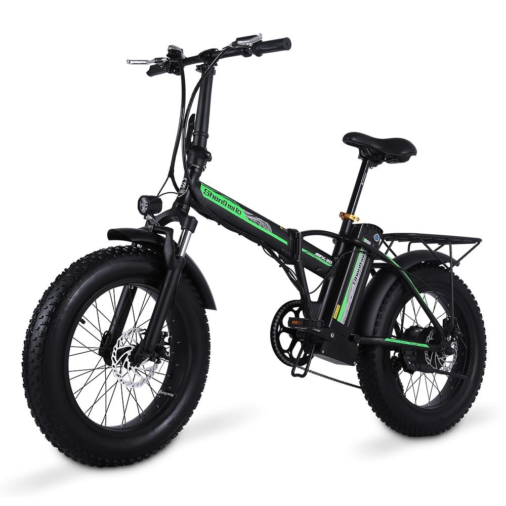 aliexpress.com - Electric Bike 500W4.0 Fat Tire Electric Bicycle Beach Cruiser Bike Booster Bike 48v Lithium Battery Folding Mens Women's Ebike