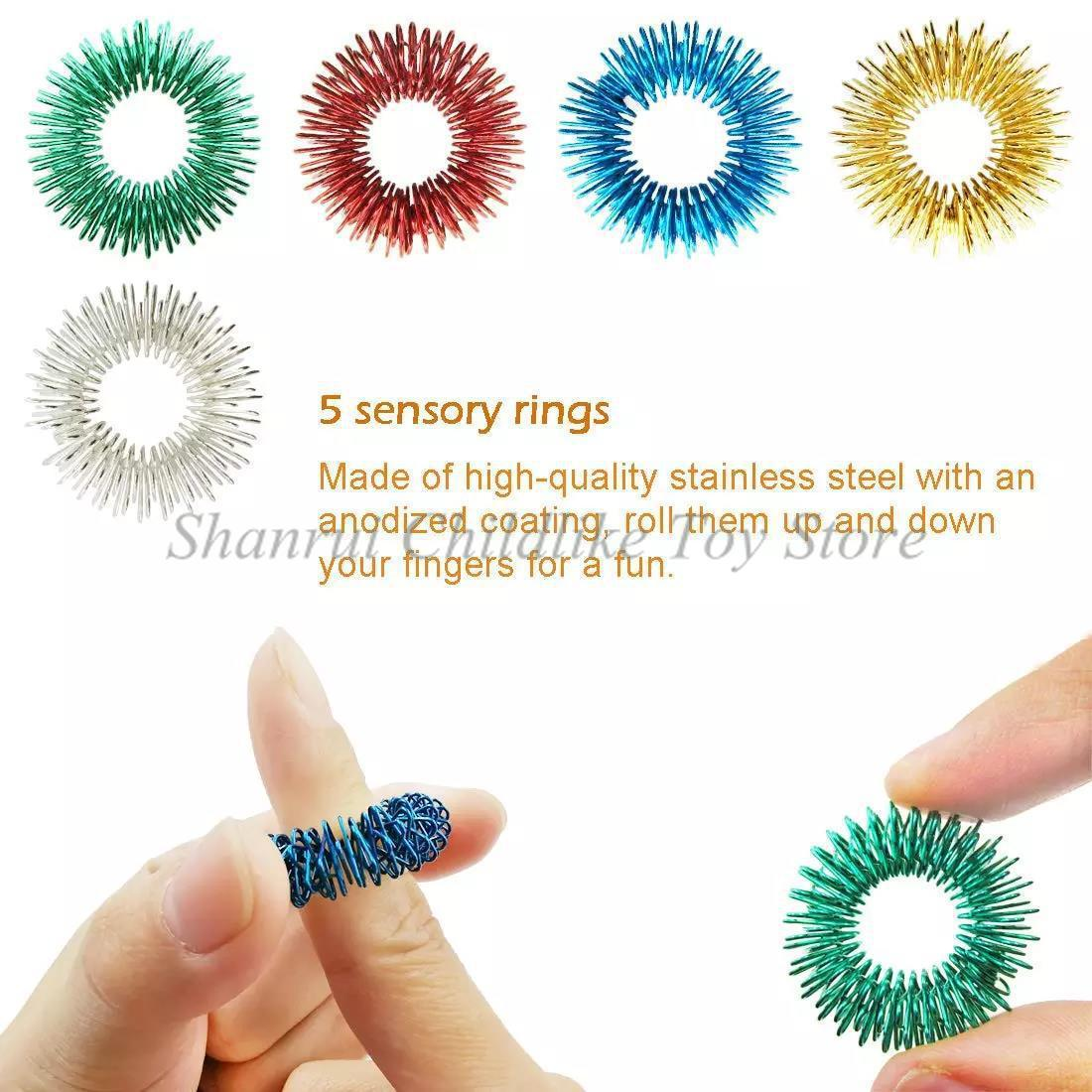 20 Pack Fidget Sensory Toy Set Stress Relief Toys ADHD Autism Anxiety Relief Stress Pop Bubble Fidget Toys For Kids Adults enlarge
