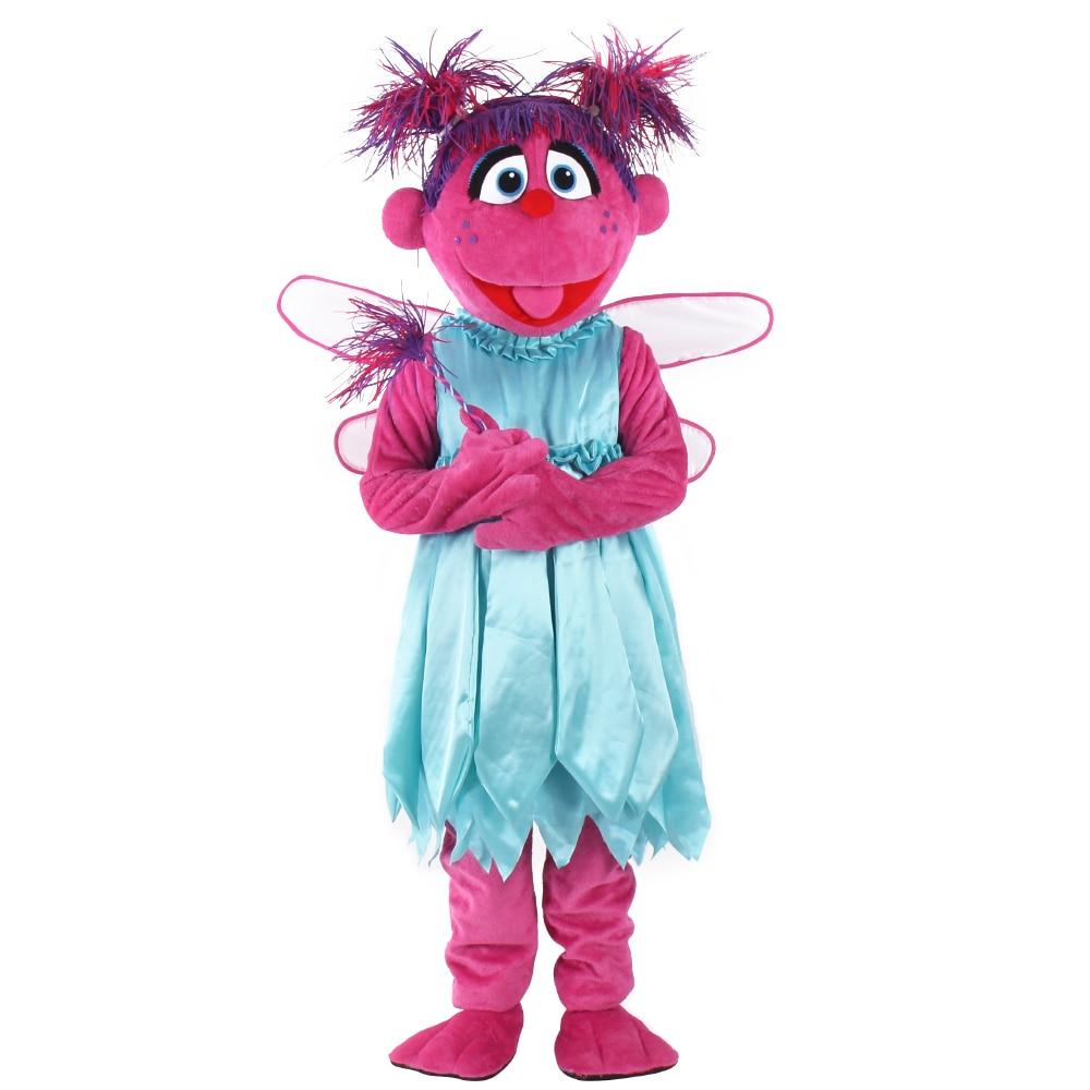 Костюм талисмана Abby Cadabby, костюм талисмана на Хэллоуин, карнавальный костюм для Хэллоуина, вечерние костюмы, размер для взрослых