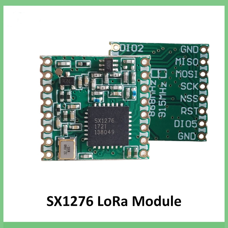 868MHz super low power RF LoRa module SX1276 chip Long-Distance communication Receiver and Transmitter SPI IOT+ antenna enlarge