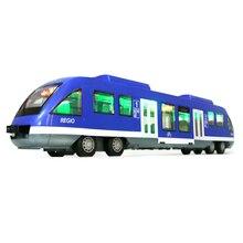 Mei Ba Ku modeli sürgülü akıllı ışık oyuncak araba simülasyon için en atalet şehir metro tren uyum