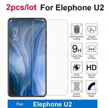 2PC 9H Toughened Screen Protector For Elephone U2 Tempered Glass Mobile Phone Accessories Film for E