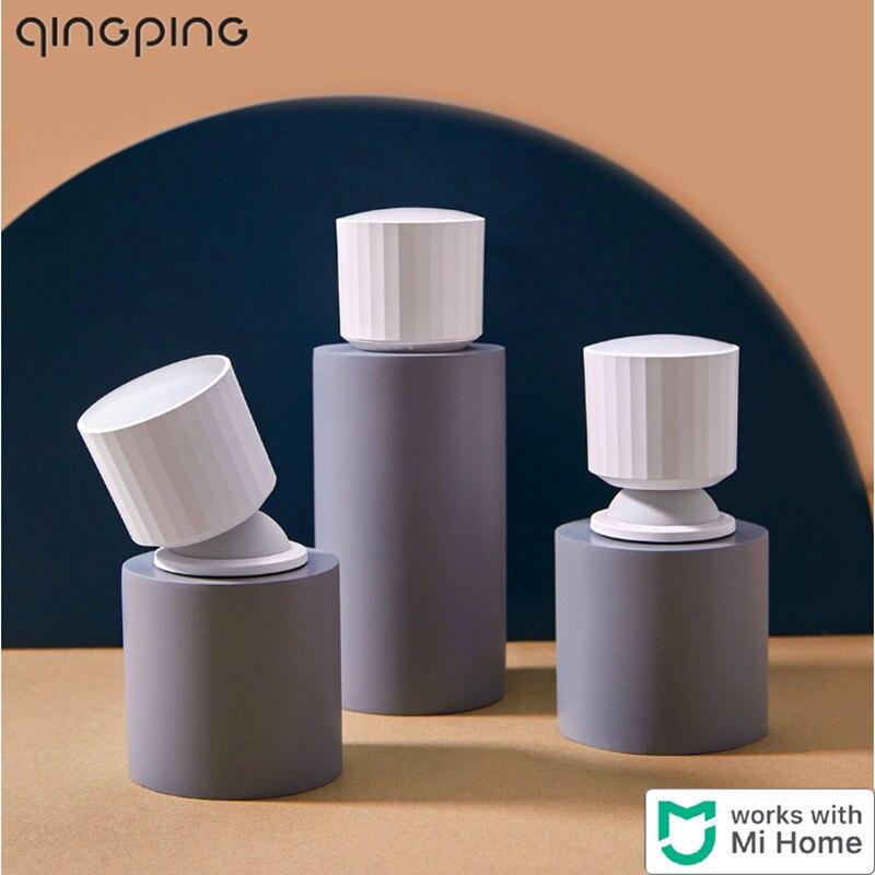 Xiaomi Qingping Motion And Ambient Light Sensor Human Body / Pet Smart Body Movement Motion & light Sensor With Base Mihome App