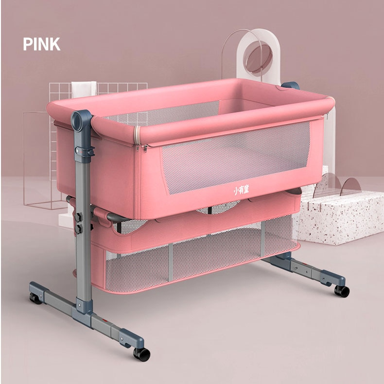 Baby Crib Portable Bassinet Newborn Baby Rocking Bed Foldable Adjustable Baby Nest Bed Cot Baby Nursery Furniture Toddler Bed enlarge