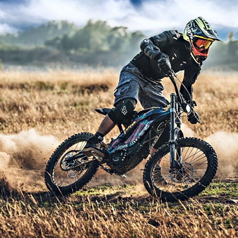 Aangepaste Lbx Elektrische Mountain Motocross 60V32AH 5400W Elektrische Mountainbike X Versie E-Motor Mid-Motor Super E-Bike