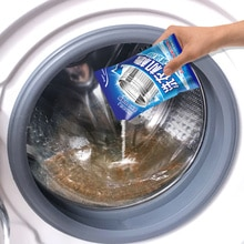 Powerful Removal of Washing Machine Dirt and Odor Automatic Drum / Straight for Washing Machine Cleaning Disinfection Detergent