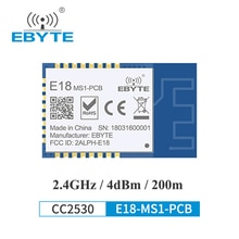 CC2530 Zigbee 2.4GHz Wireless Transmitter Receiver Zigbee Module 4 dBm EBYTE E18-MS1-PCB For Smart H