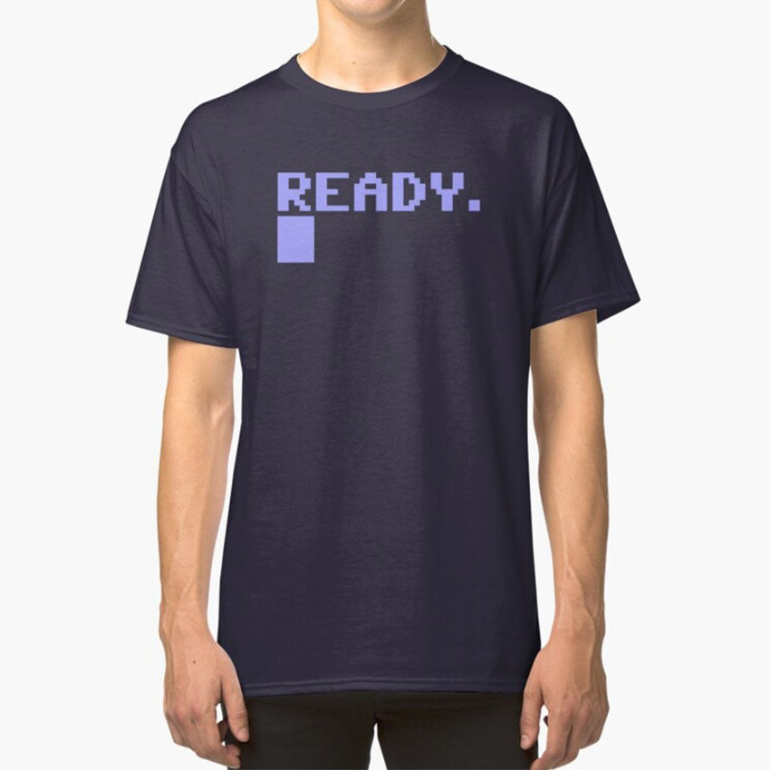 Commodore C64 Ready t-shirt C64 Commodore 64 Load Tapes Retro Juegos de ordenador disquete listo