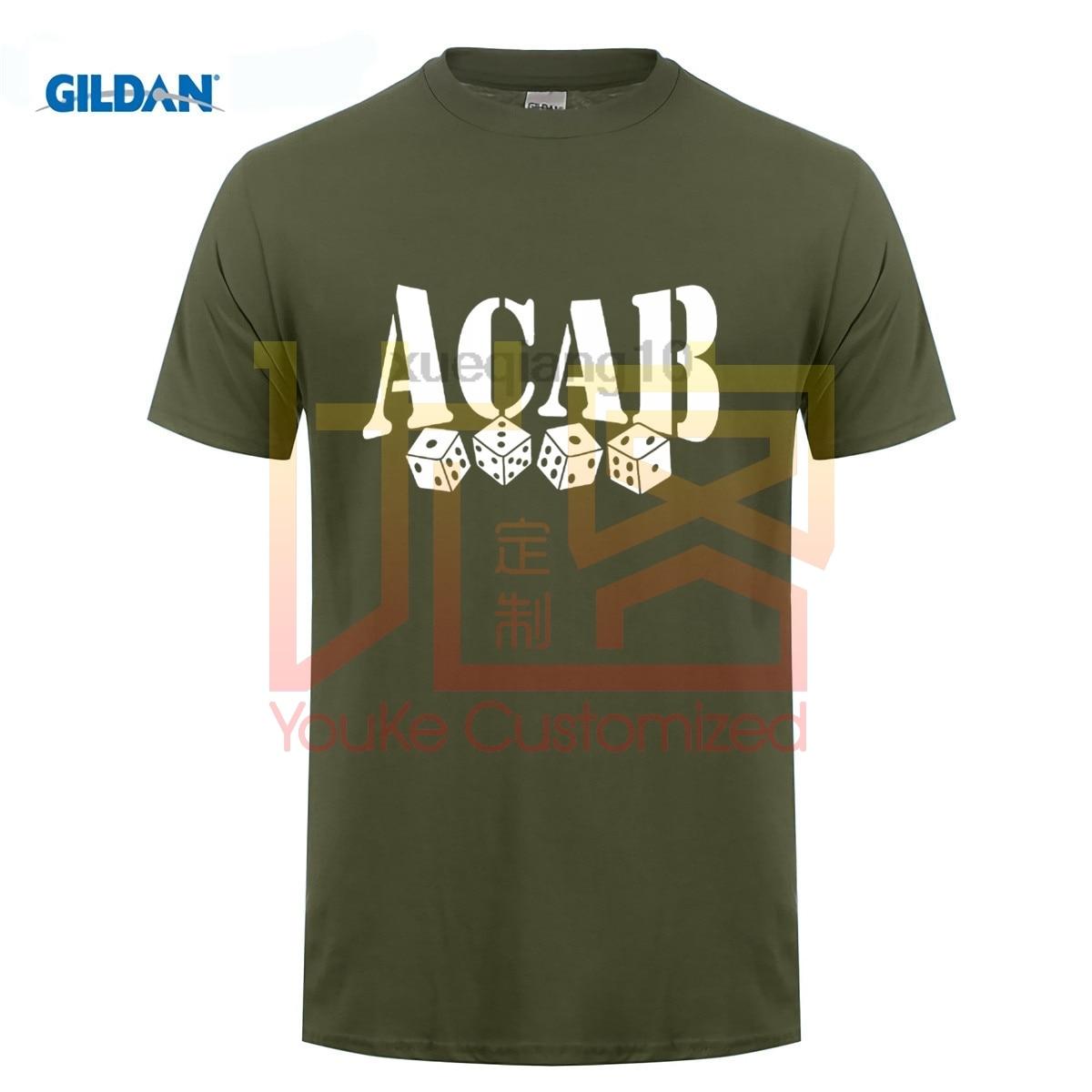 ACAB 1312 Fashion 100% cotton t-shirt