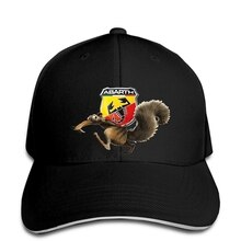 Baseball cap New Abarth Logo Squirrel Ice Age Fun Men Baseball caps