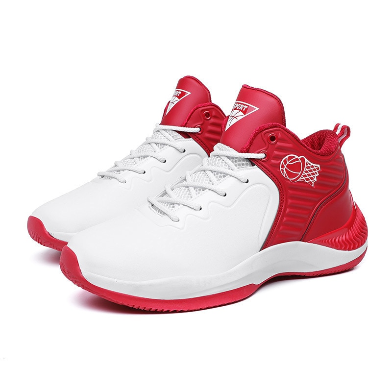 Мужские баскетбольные туфли, Высококачественная дышащая повседневная обувь для активного отдыха, легкая атлетика, Осенние сбалансированн...