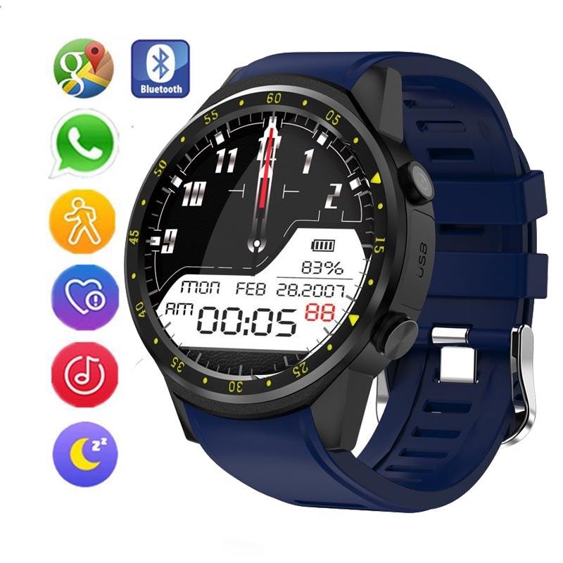 Nuevo reloj Bluetooth, GPS, monitor de Fitness, pantalla táctil, deportes, cámara HD, soporte SIM/tarjeta TF, reloj inteligente multilingüe para mujeres y niños