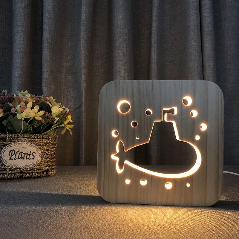 Submarine Style Nordic Style Desk Lamp USB Christmas Lights LED Lights Decoration Christmas Lights Indoor
