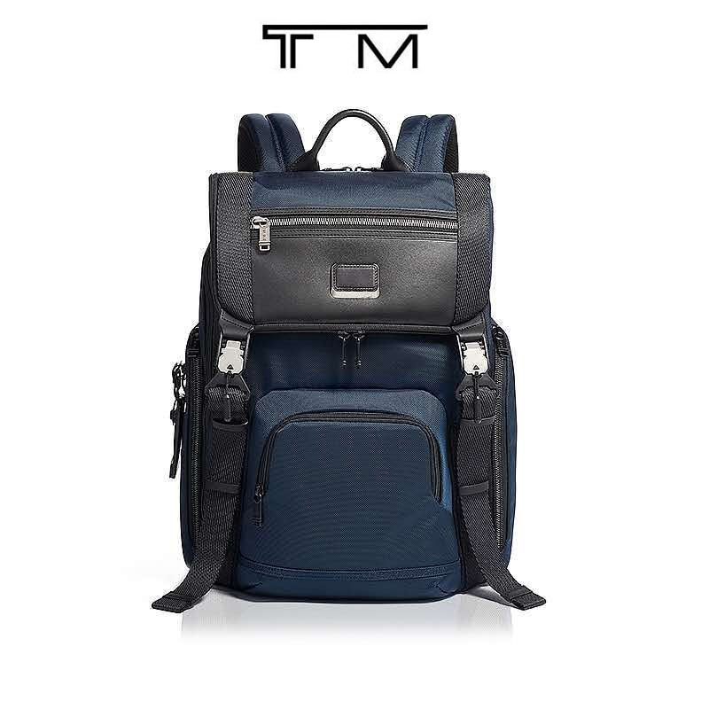 Backpack 232651 series convenient magnetic buckle men's computer backpack