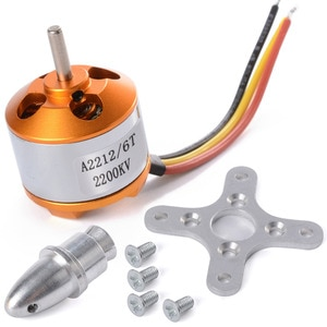 Motor sin escobillas para avión teledirigido ,Brushless Motor for RC Aircraft, 930KV 1000/1400/1800/2200/2450 / 2700KV A2212