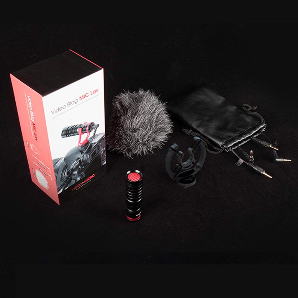 RE150 Video Microphone For DSLR Camera Camcorders Smartphones Laptop Camera Microphone Recording Microphone enlarge