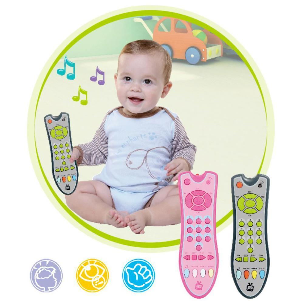 Baby Simulation TV Remote Control Kids Educational Music English Learning Toy Kids Educational Music English Learning Toy