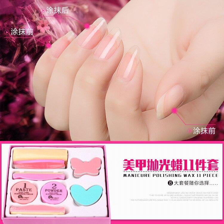 make up set Nail Conditioner & care buffering cream care tool Polishing supplies set kit nail buffers set