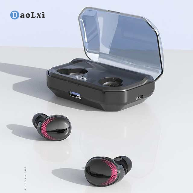 DaoLxi TWS X10 Wireless Earbuds Bluetooth 5.0 Earphone Touch Control Waterproof Noise Cancelling Headphones with Microphone enlarge
