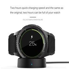 Беспроводное зарядное устройство для часов Samsung Galaxy Watch 42/46 мм зарядная док-станция для Galaxy Smart Watch Gear S2 S3 Ticwatch Moto 360 1 2
