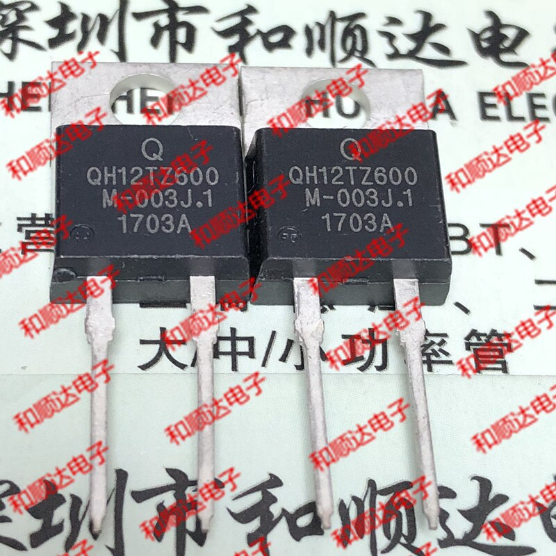 5 unids/lote QH12TZ600-220 600V 12A