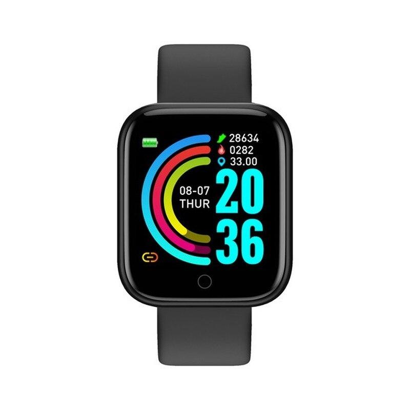 Y68 Sports Smart Bracelet Smart Watch Blood Pressure Fitness Tracker Heart Rate Monitor Smartwatch