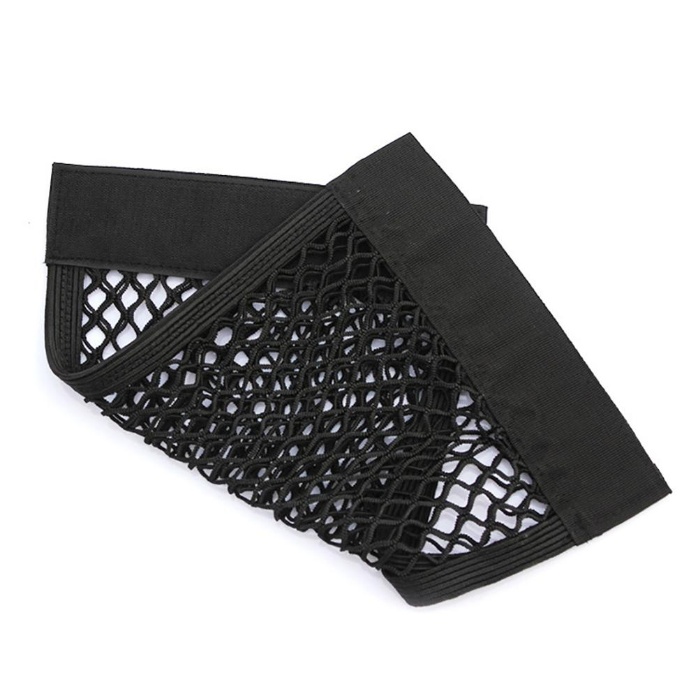 Grid Pocket Holder Car Accessories Trunk Storage Bag Mesh Net Auto Styling Luggage Sticker Interior Organizer Stuff Netting