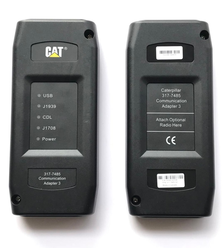 2020 Real CAT ET3 Adapter III 317-7485 2015A new CAT truck diagnostic tool CAT III Communication Adapter III CAT3 without WIFI enlarge