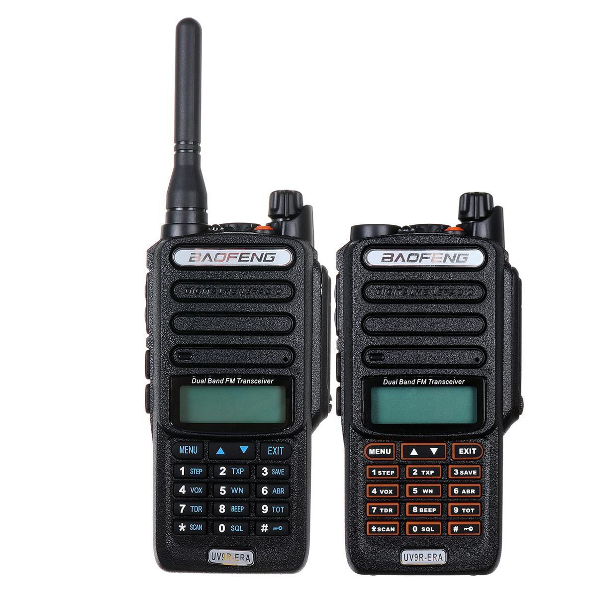 UV9R-ERA Walkie Talkie profesional UV Radio de dos vías Comunicador HF transmisor estación de Radio 15km rango de conversación IP57