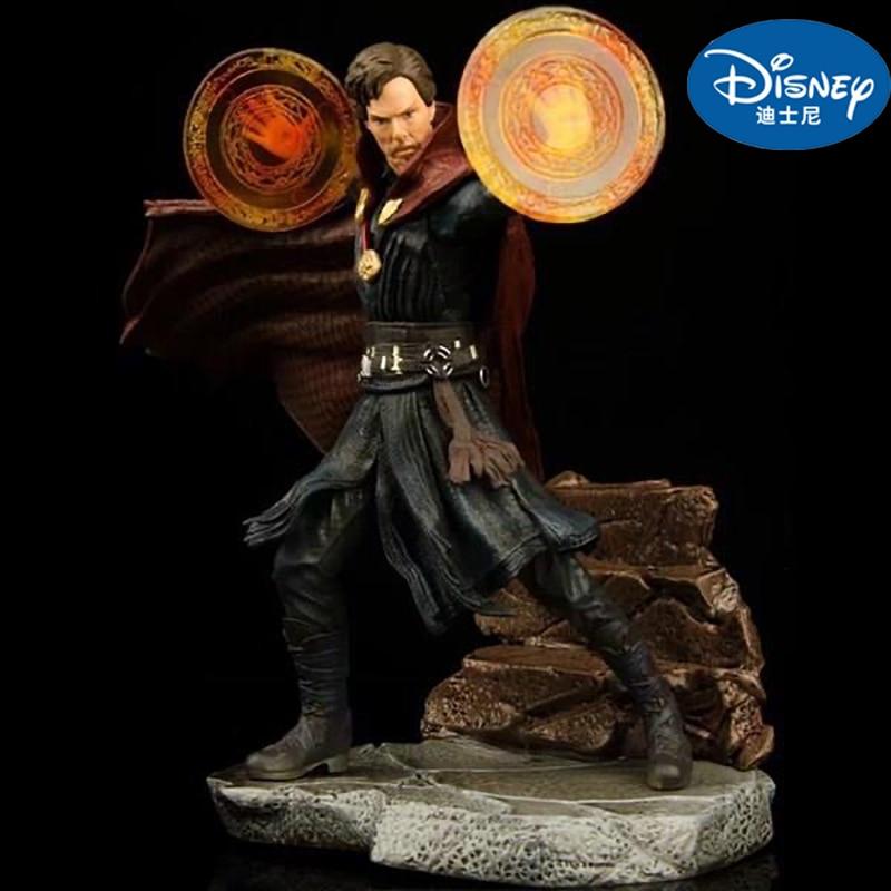 Marvel Avengers Doctor Strange 1/10 Statue Legends Eye Of Agamotto Levitation Cloak Collectible Model Action Figure Doll Toys