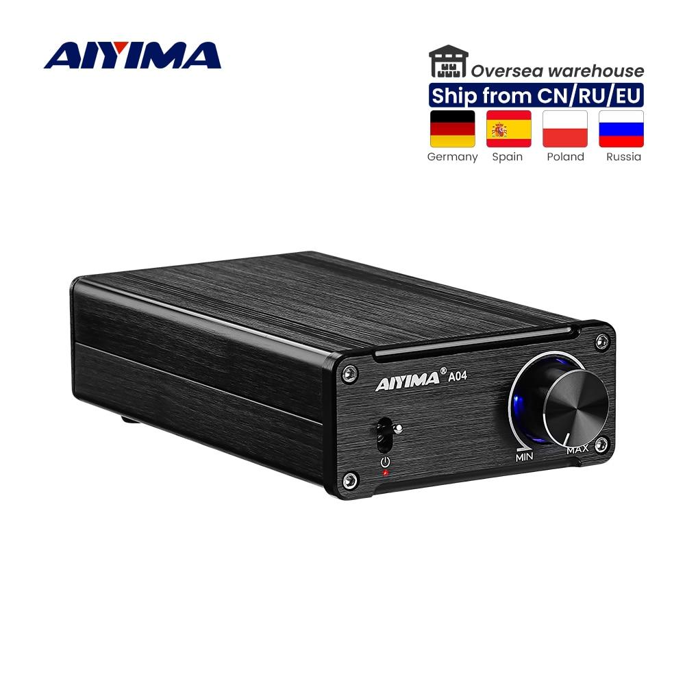 AIYIMA TPA3251 مكبر كهربائي رقمي مسرح منزلي صوتي محمول HIFI مكبر صوت صغير NE5532 175Wx2 Super TDA7498E/TPA3116