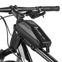 Wheelup sac de vélo étanche faisceau avant Pack Tube sacoche vtt VTT pochette EVA vélo sac de vélo accessoires de vélo