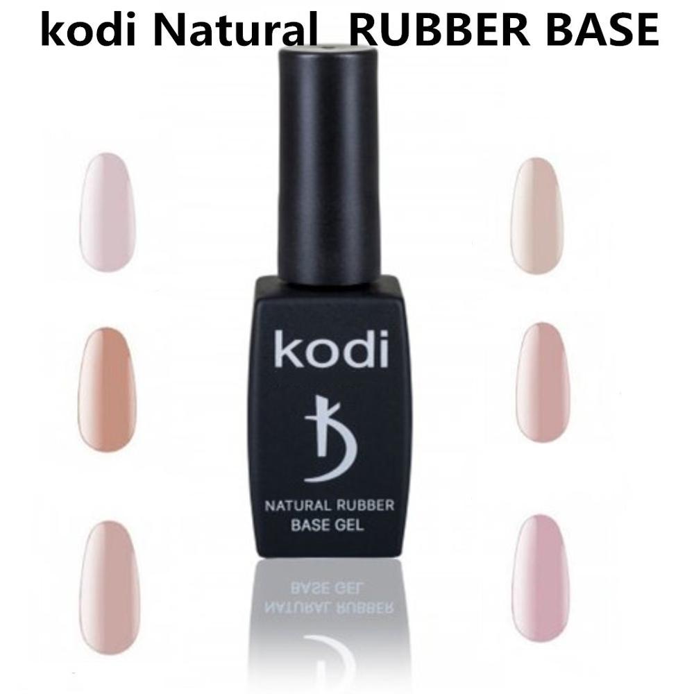 KODI гель 12 мл натуральная резиновая основа гель Праймер гель Профессиональный Чистый цвет УФ светодиодный Гель-лак для ногтей долговечный