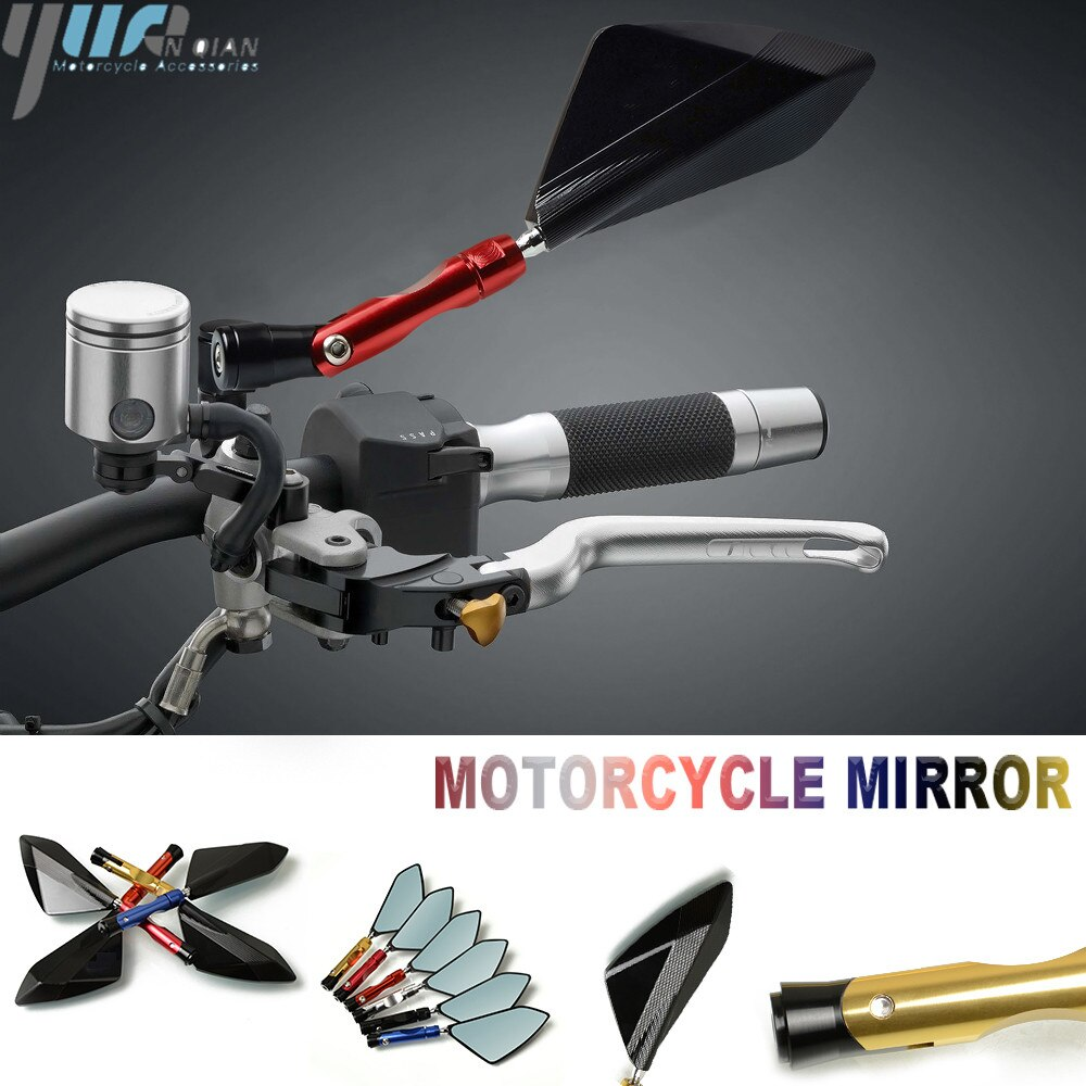 Acessórios de moto universal espelho retrovisor moto rcycle espelhos para suzuki bandit 1250 bandit 1250 tu250x m50 c90t burgman 200 400