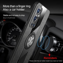 LVOEST shockproof is suitable for One plus 9 pro case ring Stand cover magnetic Stand antidrop sleev