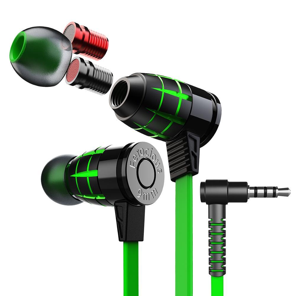 Auriculares Gaming G25 hammerhead, auriculares estéreo para gamers con micrófono magnético Original 2,2 M, auriculares con cable para teléfono