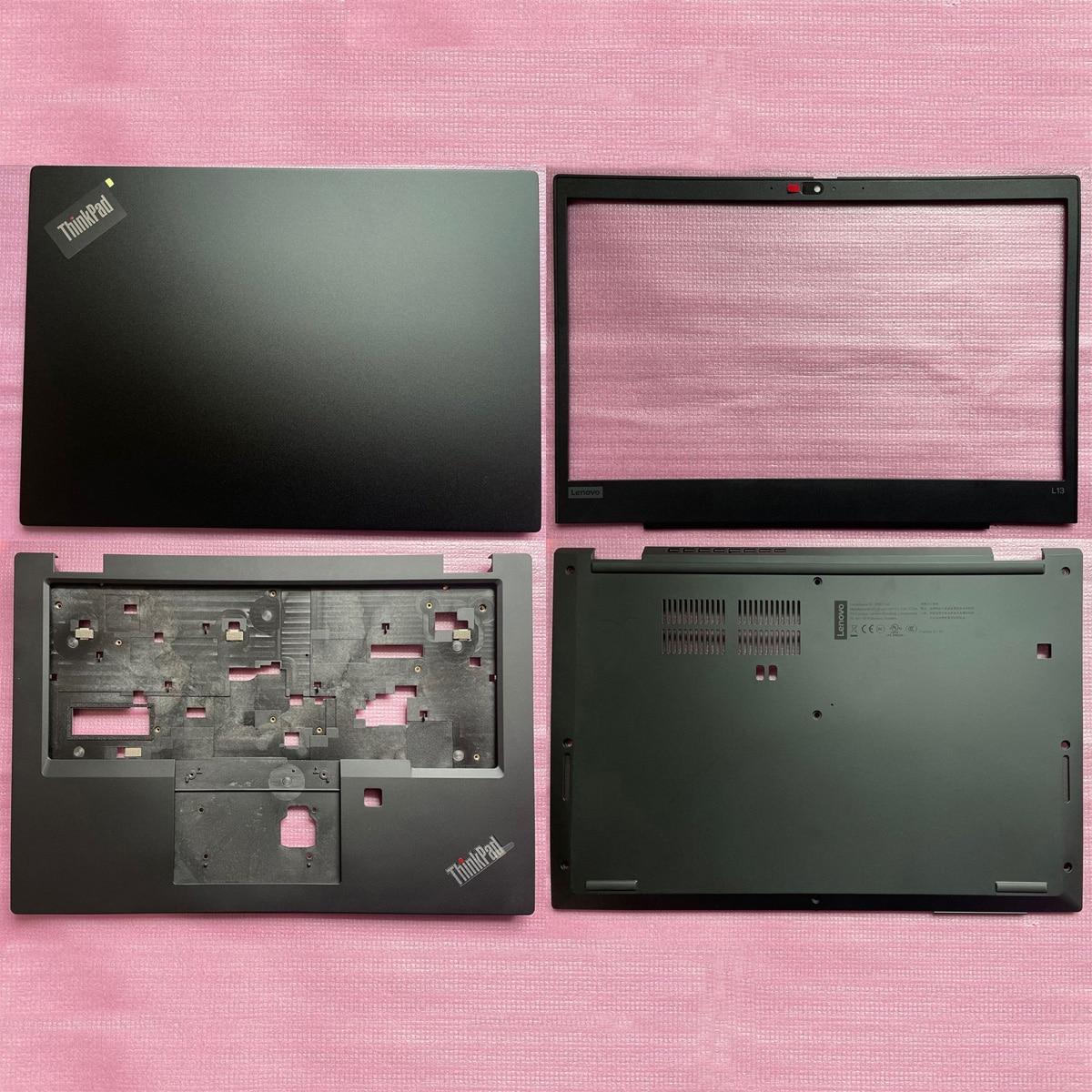 جديد لينوفو ثينك باد L13 Gen 2 S2 2020 LCD الغطاء الخلفي الغطاء الخلفي الجبهة الحافة/Palmrest غطاء/أسفل قاعدة الغلاف