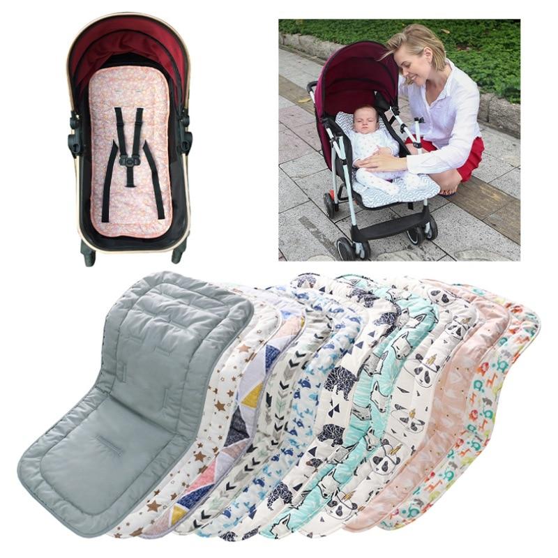 Сиденье для детской коляски хлопковый удобный мягкий детский коврик для тележки, детская подушка, багги-коляска, автомобильное кресло для н...