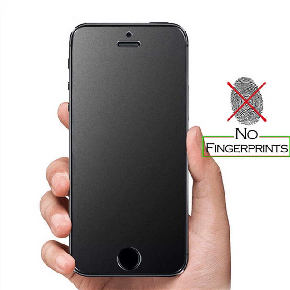 9H Matte Frosted Tempered Glass Screen Protector For Iphone 12 X XR XS 11 Pro Max 8 7 Plus 6S 5 Anti