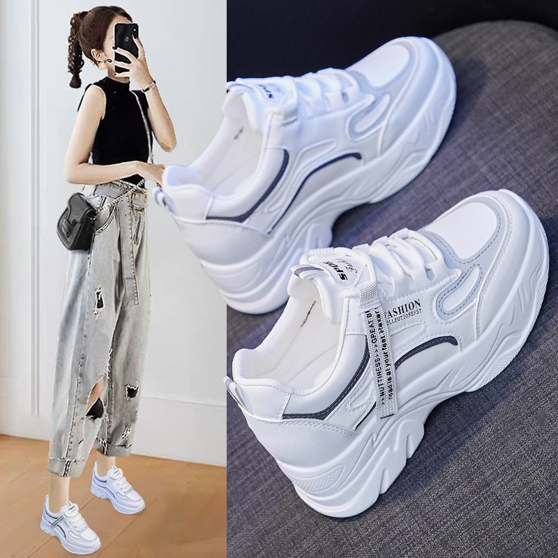 Old Daddy Shoes Women's Spring 2021 New Korean Version of All-match Sports Shoes Women's Shoes