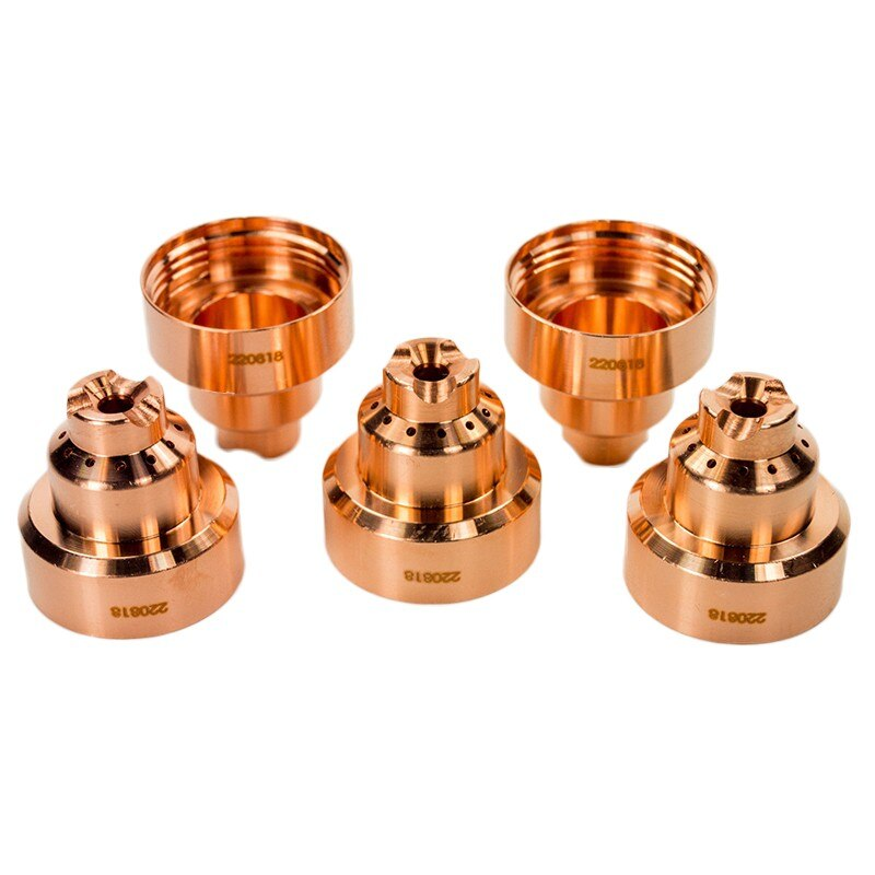 5 шт., медные Плазменные электроды 220818 для резки сварочных насадок