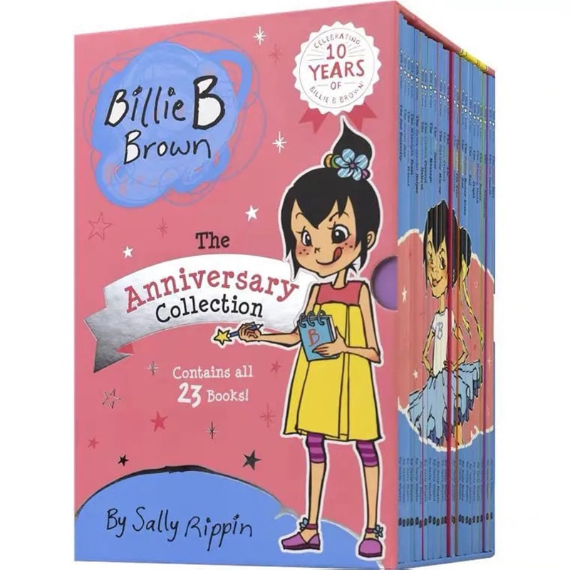 23 Books/Set Billie B Brown Complete Collection Children Baby Famous Story English Tales Child Book Set Baby Bedtime Book
